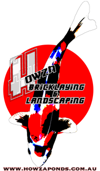 Bricklaying and Pond Builder Company Logo by Brett  in Wanneroo WA
