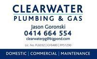 Clearwater Plumbing & Gas Company Logo by Clearwater Plumbing & Gas in Helena Valley WA