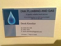Tradie DMK Plumbing and Gas in Beldon WA