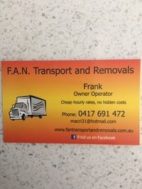 F.A.N Transport & Removals