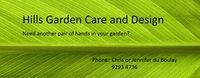 Hills Garden Care and Design Company Logo by Hills Garden Care and Design in Kalamunda WA