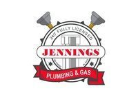 Jennings Plumbing and Gas Company Logo by Jennings Plumbing and Gas in Mount Pleasant WA