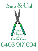 Snip and Cut Lawnmowing and Garden Care