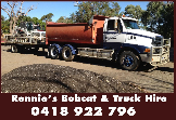 Rennie's Bobcat & Truck Hire