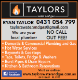 TAYLORS WATER AND GAS