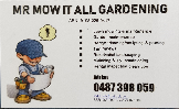 Mr Mow It All Lawn & Home Services