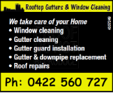 Rooftop Gutters & Window Cleaning