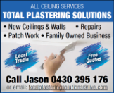 TOTAL PLASTERING SOLUTIONS