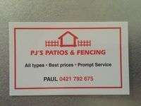 PJS PATIOS & FENCING Company Logo by PJS PATIOS & FENCING in Huntingdale WA