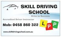 Skill Driving School Company Logo by Edward Nee in canning vale WA