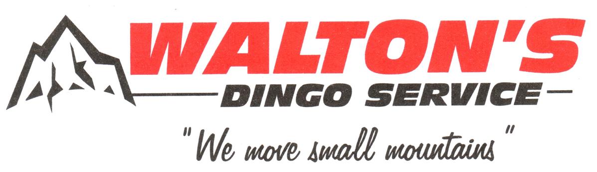 Walton S Dingo Service Bobcat Excavator Earthmoving