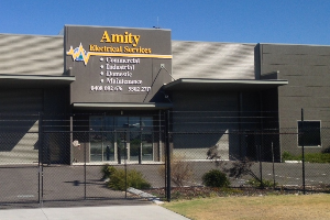 Amity Electrical Services Company Logo by Amity Electrical Services in Wangara WA