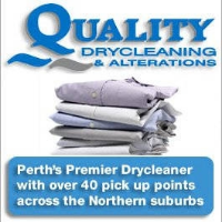 Quality Drycleaning Company Logo by Quality Drycleaning in Marmion WA