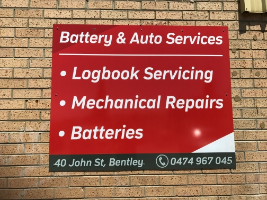 Battery and Auto Services Company Logo by Battery and Auto Services in Bentley WA