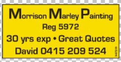 Morrison Marley Painting Company Logo by Morrison Marley Painting in Warnbro WA