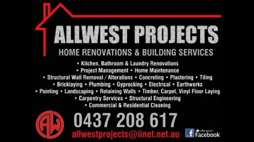 ALLWEST PROJECTS  Company Logo by ALLWEST PROJECTS  in Baldivis WA