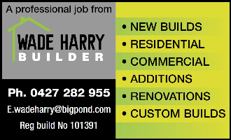 Wade Harry Builder Company Logo by Wade Harry Builder in Stakehill WA