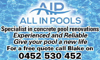 All in Pools Company Logo by All in Pools in Maida Vale WA