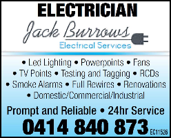 Jack Burrows Electrical Services Company Logo by Jack Burrows Electrical Services in Thornlie WA