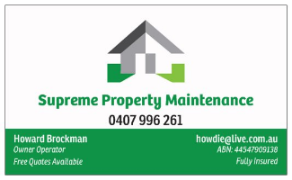 Supreme Property Maintenance Company Logo by Supreme Property Maintenance in Clarkson WA