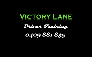 Victory Lane Driving Training Company Logo by Victory Lane Driving Training in East Cannington WA