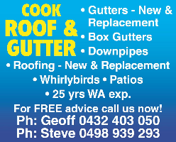 Cook Roof & Gutters Company Logo by Cook Roof & Gutters in Wilson WA