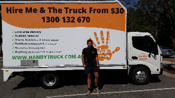 The Handy Truck Company Logo by The Handy Truck in Midland WA