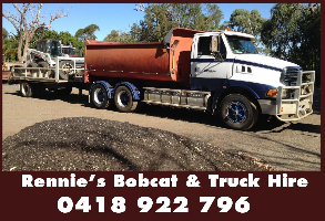 Rennie's Bobcat & Truck Hire Company Logo by Rennie's Bobcat & Truck Hire in Cockburn Central WA