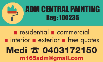 ADM Central Painting Company Logo by ADM Central Painting in Mirrabooka WA