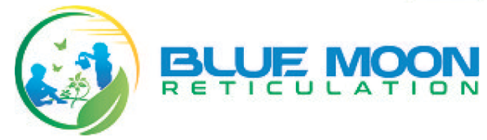 Blue Moon Reticulation and Landscaping Company Logo by Blue Moon Reticulation and Landscaping in Yokine WA