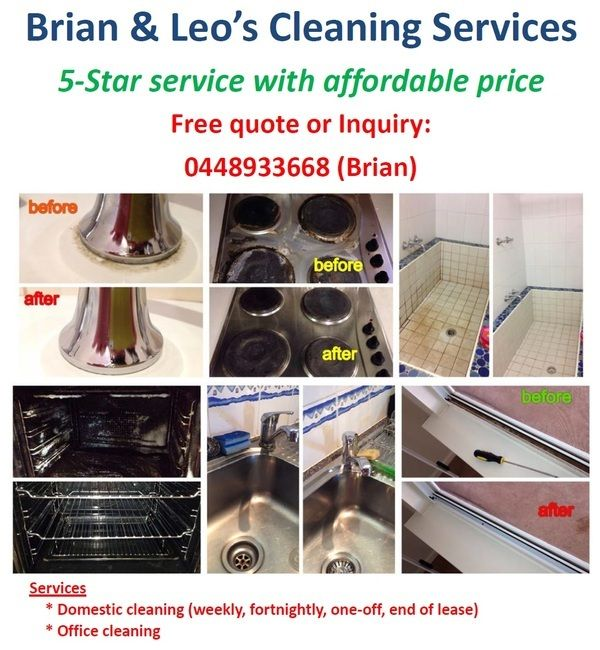 Tradie Brian & Leo's Cleaning Services in Carlisle WA
