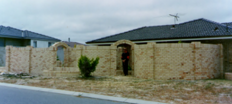 Tradie Christopher Berry Bricklaying in GIRRAWHEEN WA