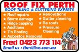 Tradie ROOF FIX in Gosnells WA