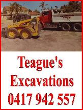 Tradie Teague Excavations in Ashby WA