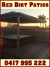 Tradie red dirt patios and maintenance in North Coogee WA