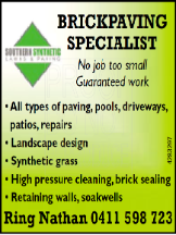 Tradie SOUTHERN SYNTHETIC LAWNS & PAVING in Guildford WA