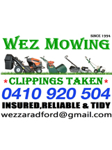 Tradie WEZ MOWING - LAWNMOWING, HEDGE TRIMMING in Seville Grove WA