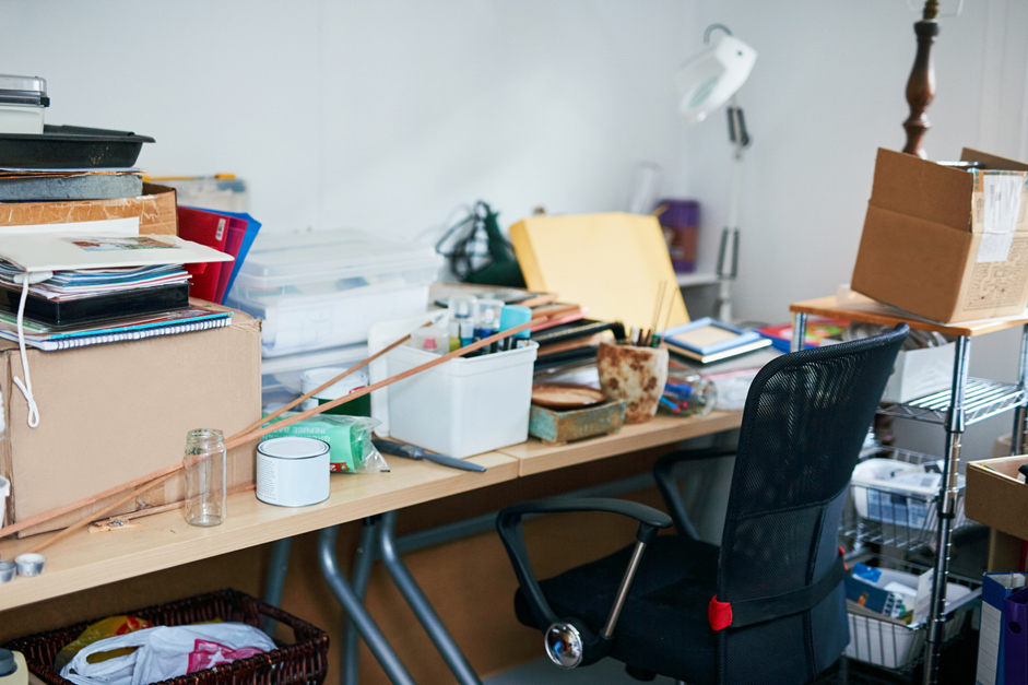 Eight tips to help declutter your home