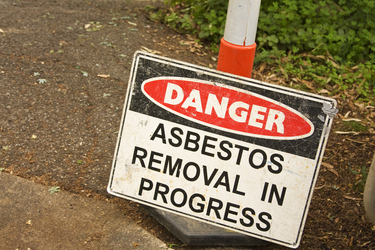 Asbestos safety in the home