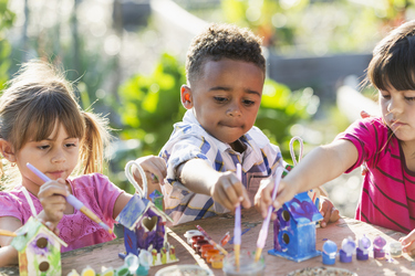 Get crafty – and grubby – with these kids activities in the garden this summer