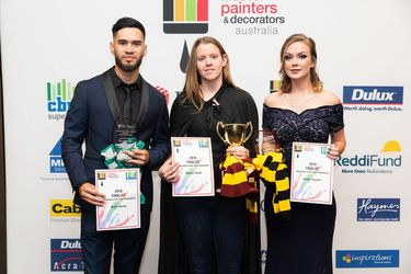 Painters' brush with fame at WA awards for excellence